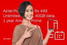 Airtel Postpaid at Rs. 499, Unlimited Calling, 40GB data, 1 year Amazon Prime